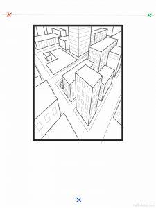 Three Point Cityscape Lesson: part 11