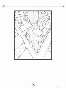 Three Point Cityscape Lesson: part 14