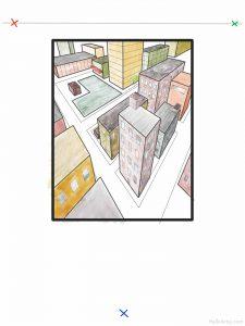 Three Point Cityscape Lesson: part 17