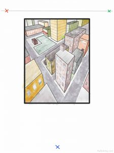 Three Point Cityscape Lesson: part 18