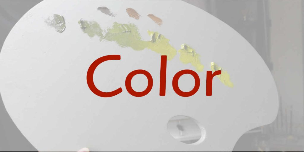 color lessons for art students