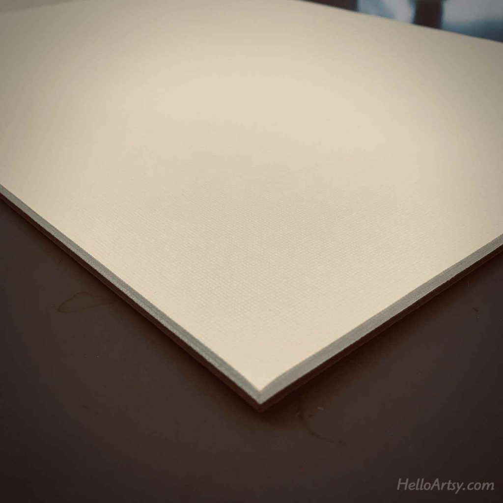 pad of canvas paper