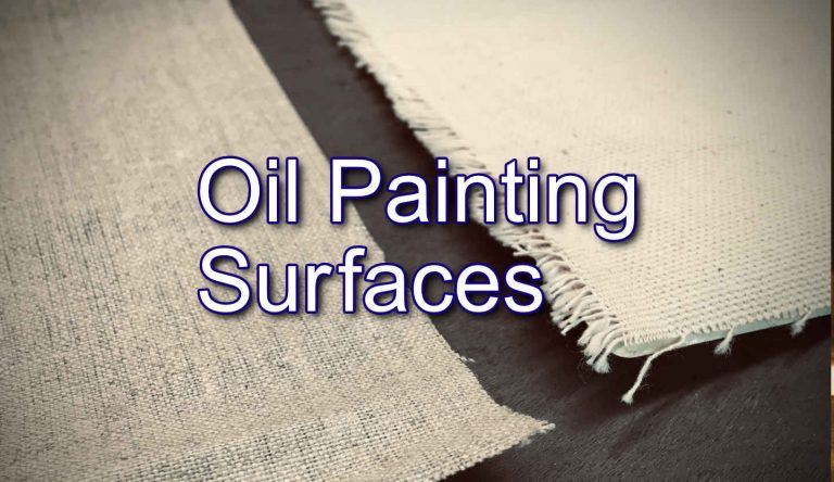Oil Painting Surfaces