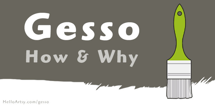 Gesso | What it is and How to Use it for Painting