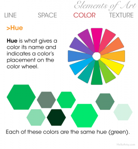 Elements of Art: Color - Hue