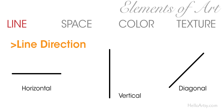 Elements of Art: Line - Direction