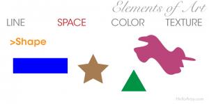 Elements of Art: Space - Shape