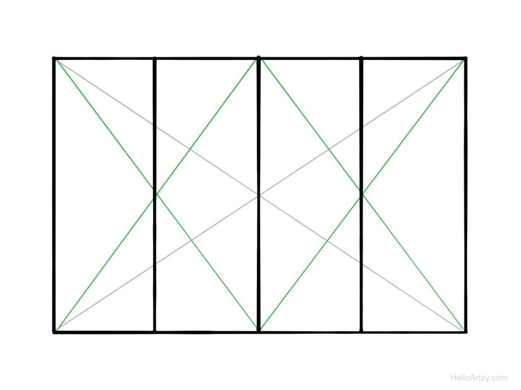 halving rectangle