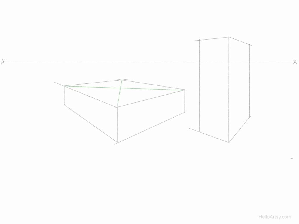 Perspective Pyramid Exercise Step: 2