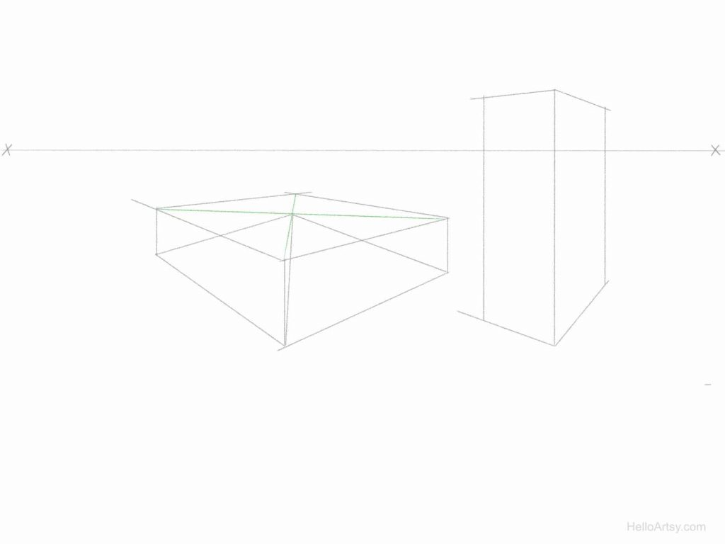 Perspective Pyramid Exercise Step: 3