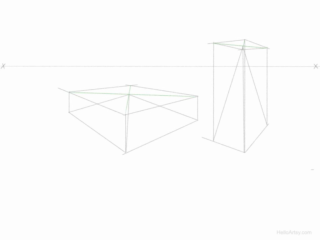 Perspective Pyramid Exercise Step: 5