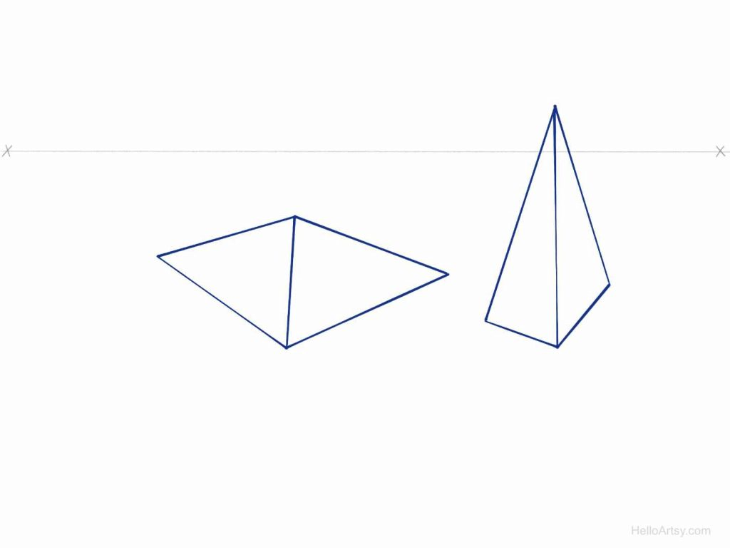 Perspective Pyramid Exercise Step: 7
