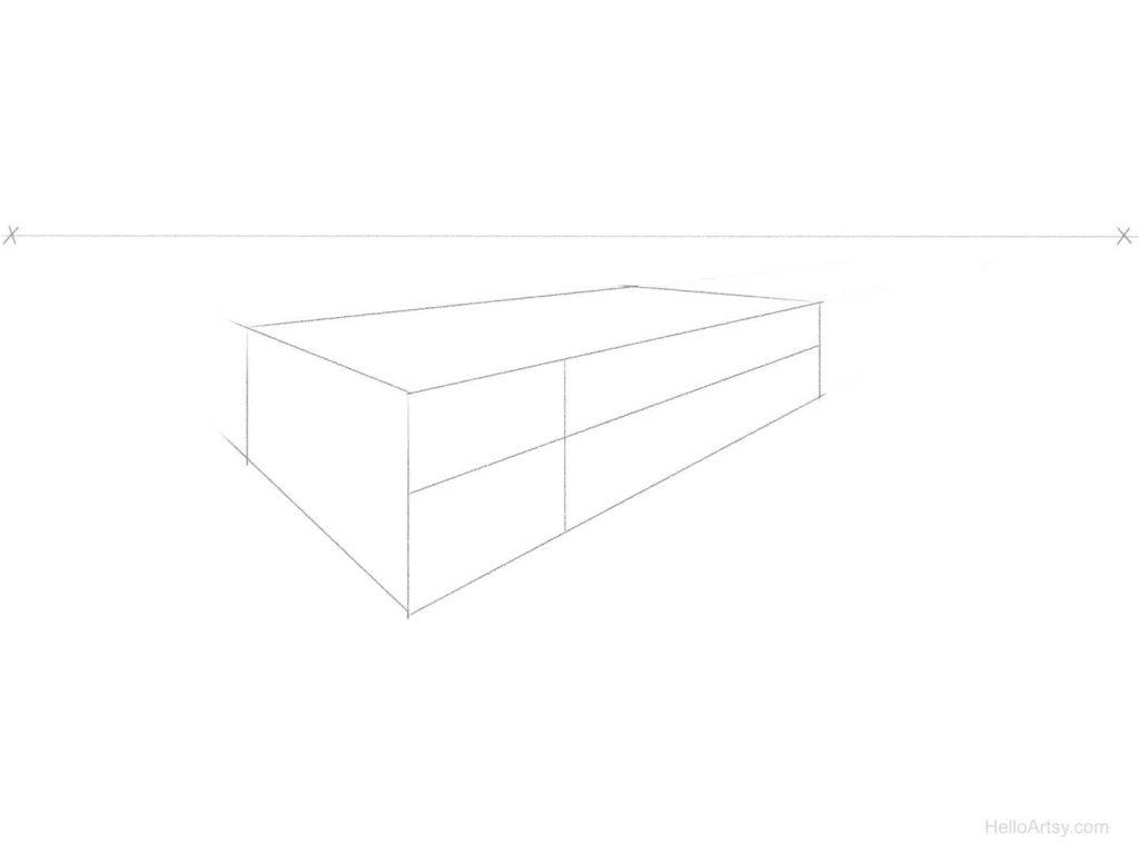 perspective spacing step 2