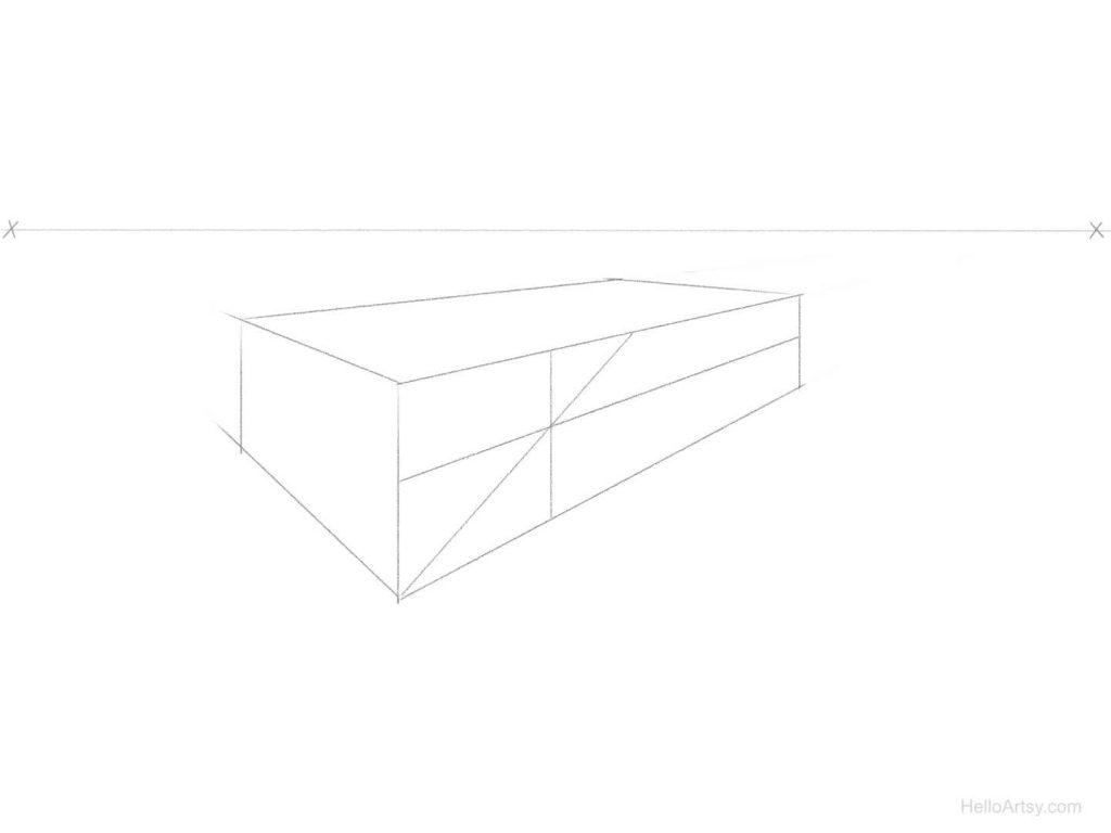 perspective spacing step 3