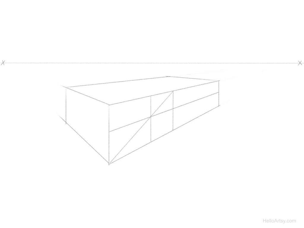 perspective spacing step 4