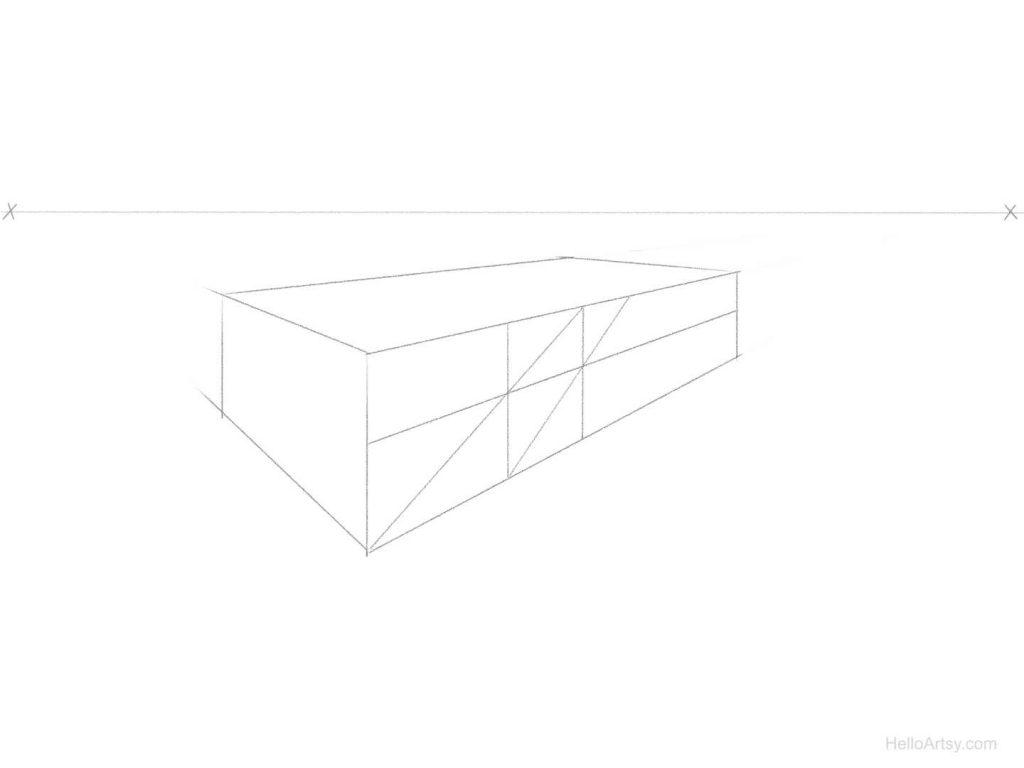 perspective spacing step 5