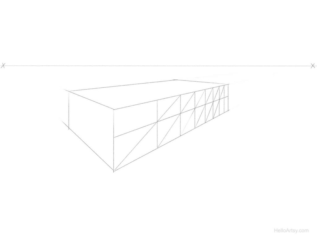 perspective spacing step 6
