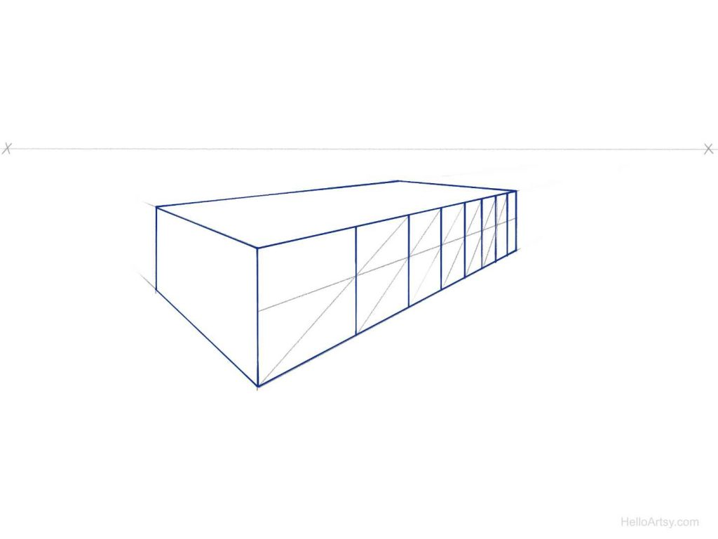 perspective spacing step 7
