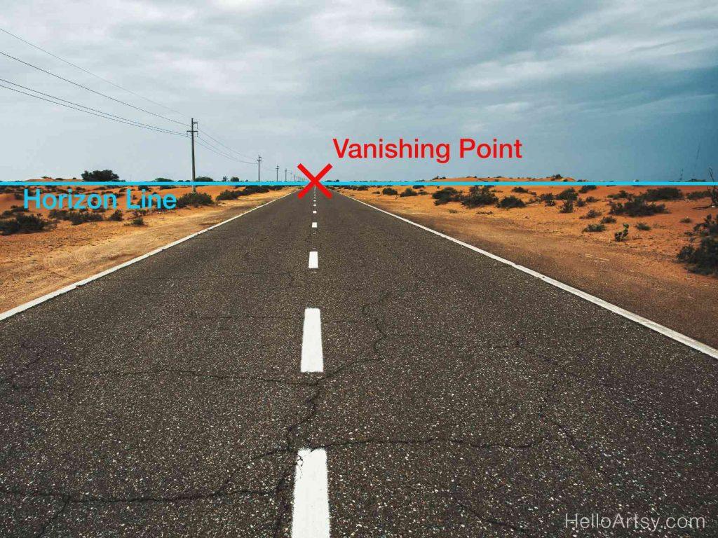 Perspective Highway Road