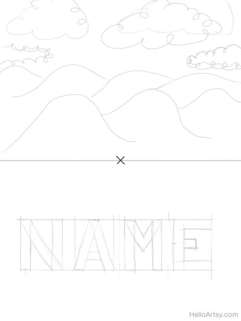 Sketch Background