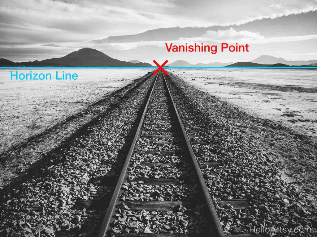 Train Tracks with Perspective Labels