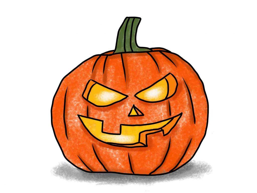 Easy Halloween Drawings
