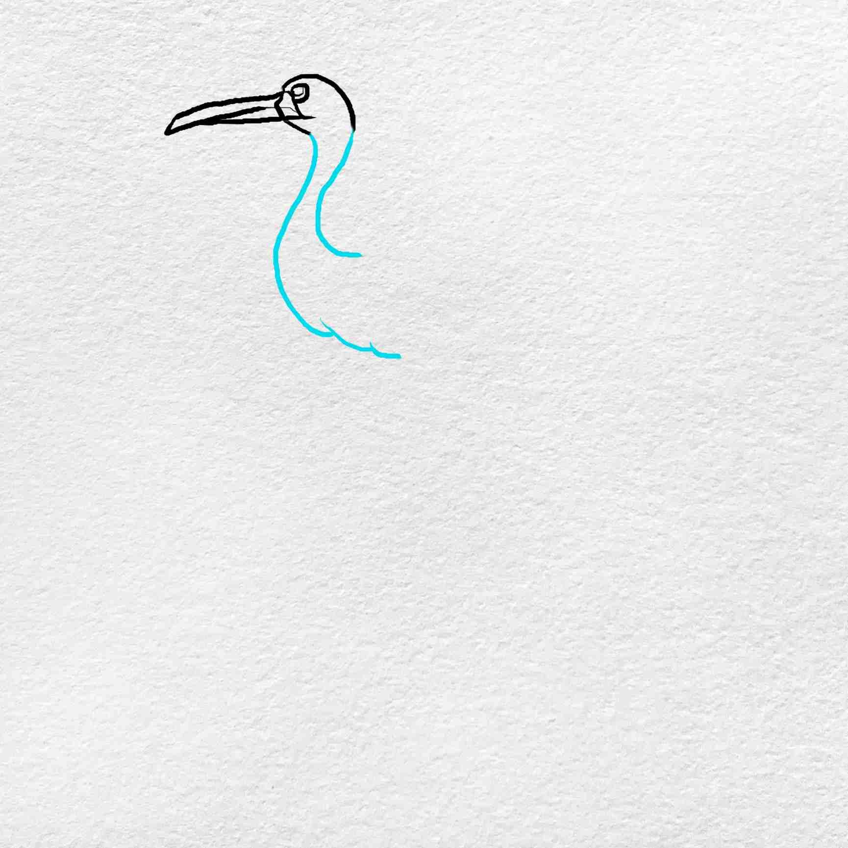 How To Draw A Crane: Step 3