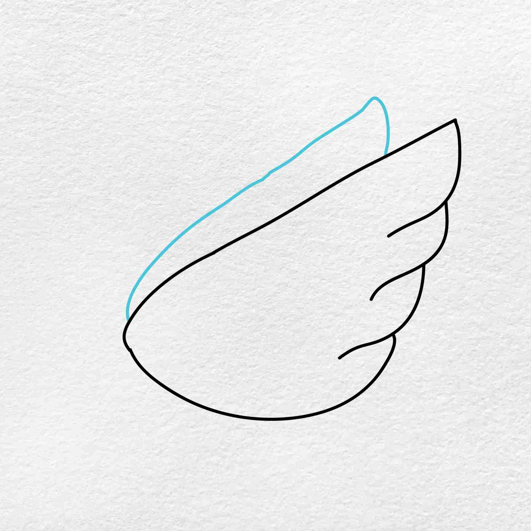 How To Draw A Swan: Step 2
