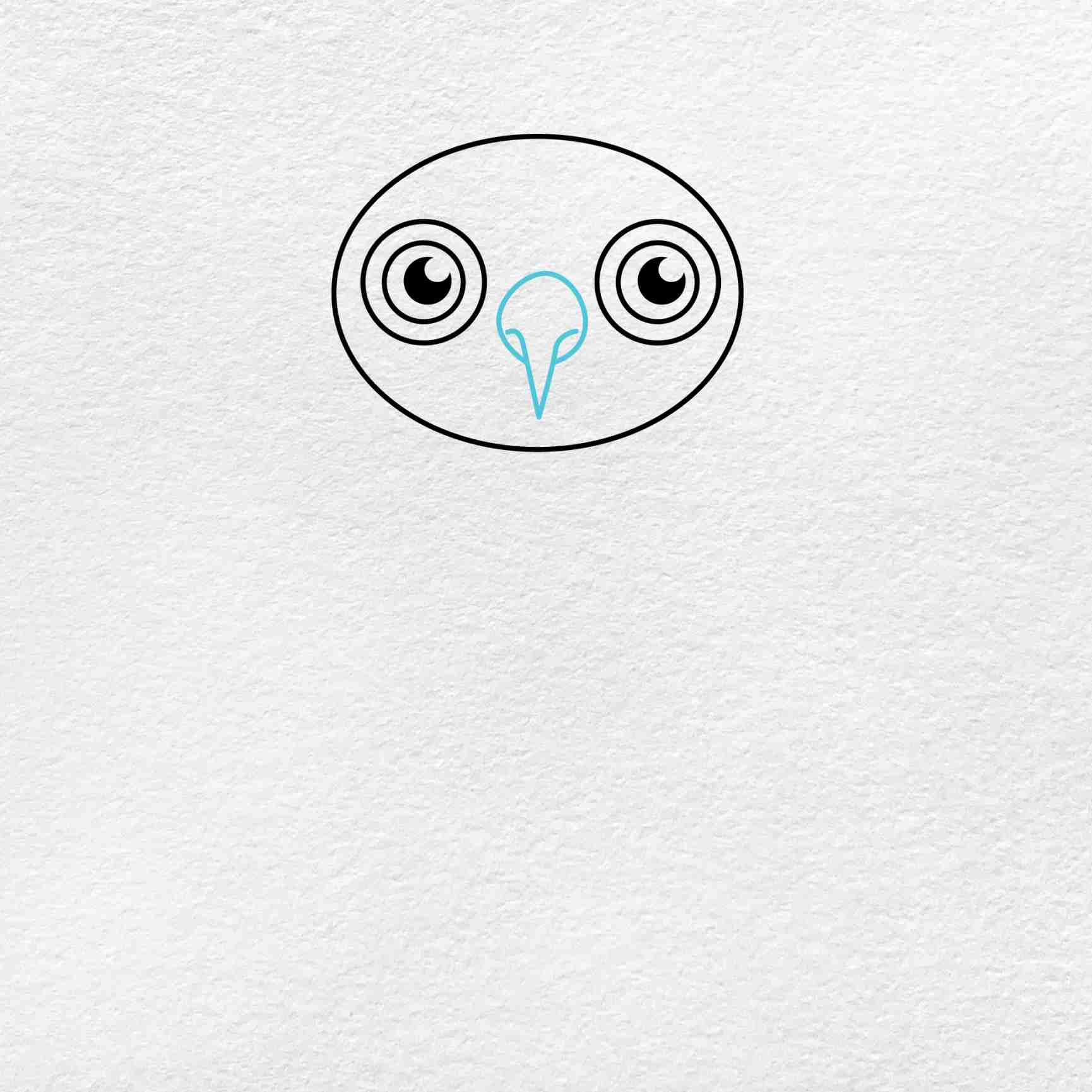 How To Draw An Owl: Step 3