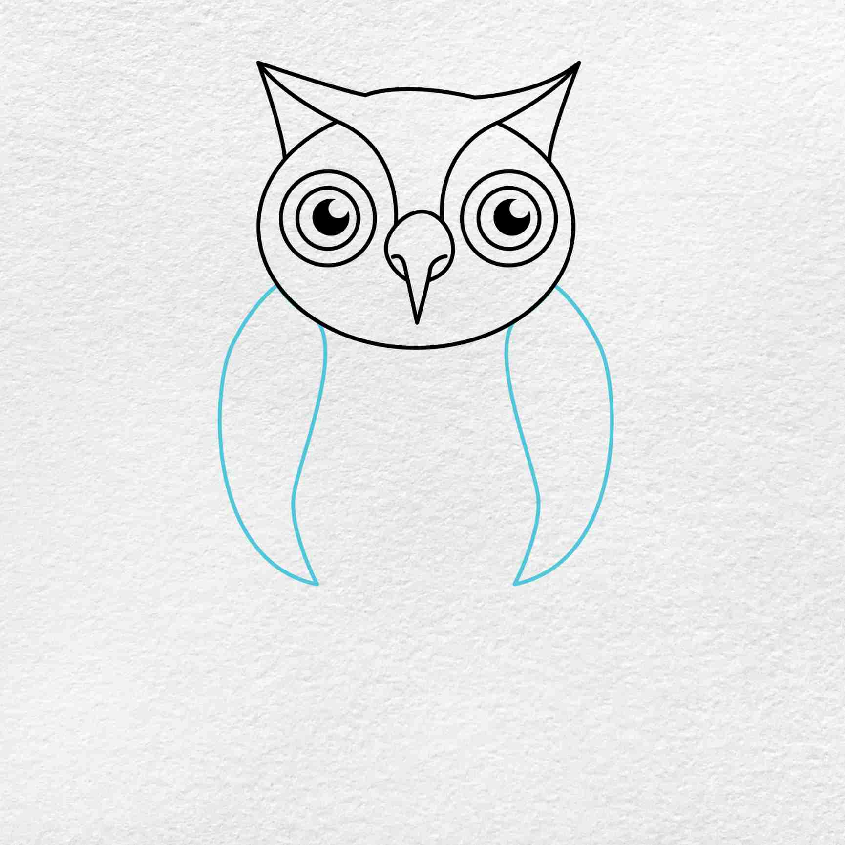 How To Draw An Owl: Step 5