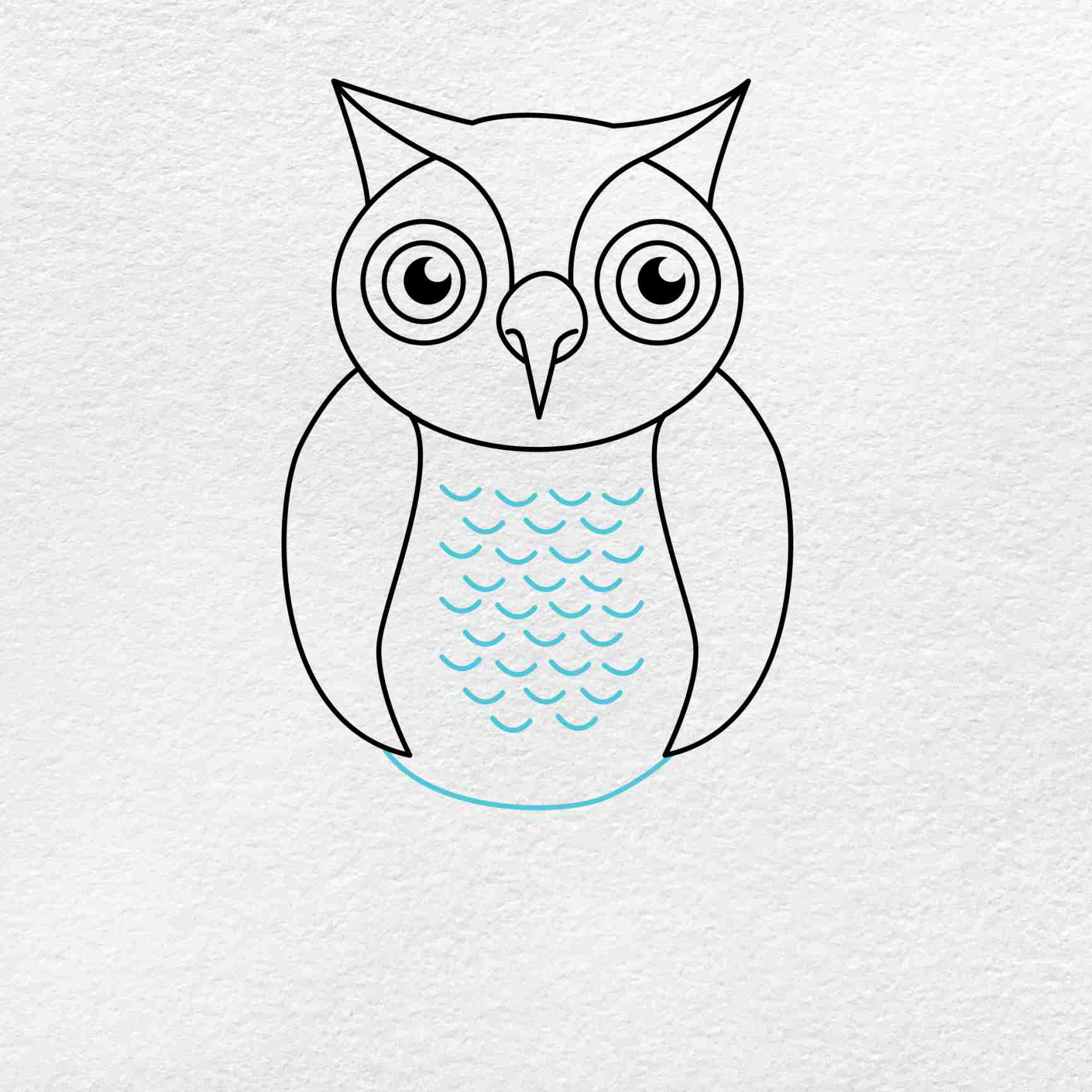 How To Draw An Owl: Step 6