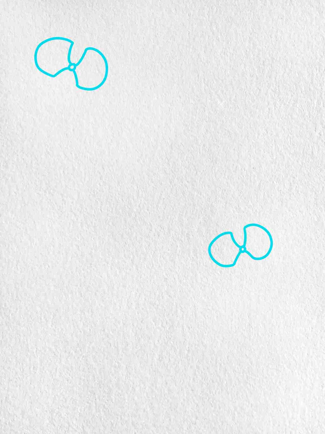 How To Draw Orchid: Step 1