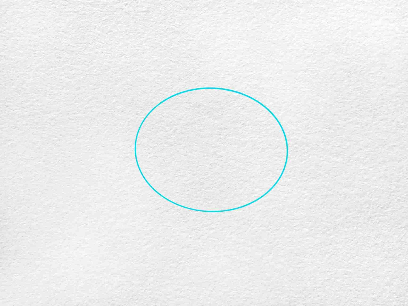 Manta Ray Drawing: Step 1